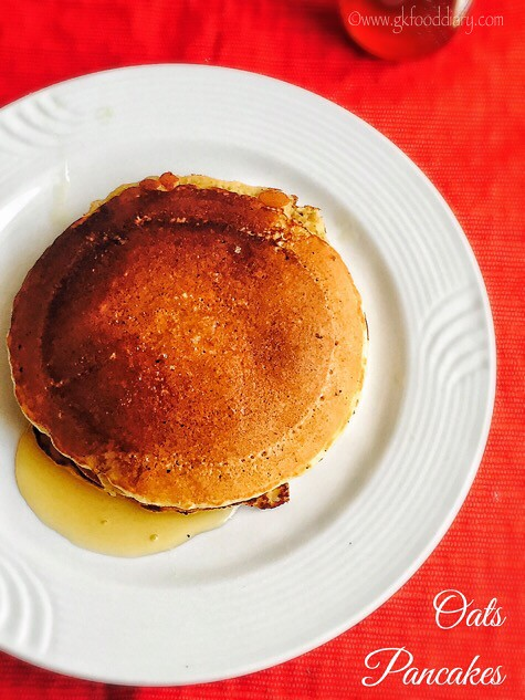 Oats Pancakes Recipe for Toddlers and Kids2