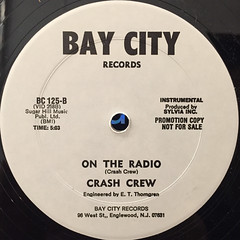 CRASH CREW:ON THE RADIO(LABEL SIDE-B)