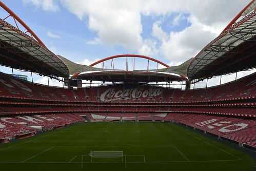 Stadium de Luz  -  panoramica eseguita a mano