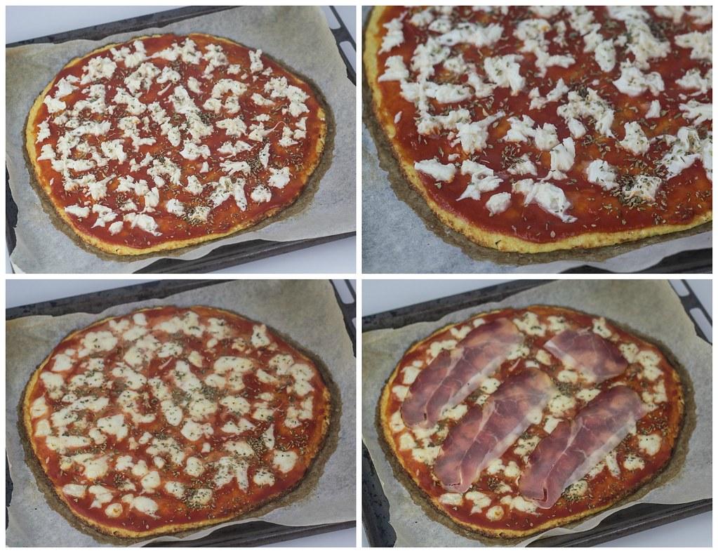Opskrift på hjemmelavet sund blomkålspizza