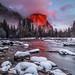 Sunset light , El Capitan ,Yosemite by Liping Photo