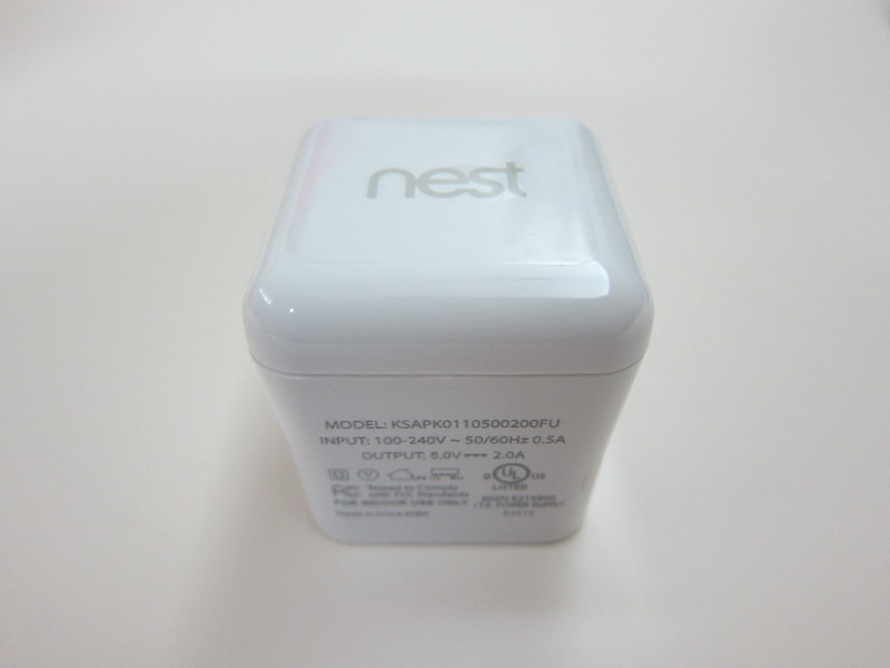 Nest Cam - USB Power Adapter