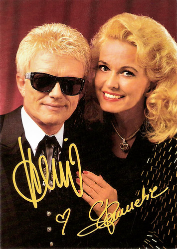 Hannelore Auer and Heino