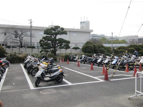 京都競馬場,駐輪場