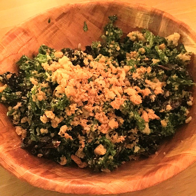 Savio Volpe - Kale Salad