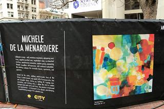 Super Bowl City - Art Walk Michele De La Menardiere