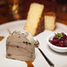 Foie De Canard 'villa Lorraine\' - spiced foie gras terrine, port reduction, kriek granita, truffled brioche french toast