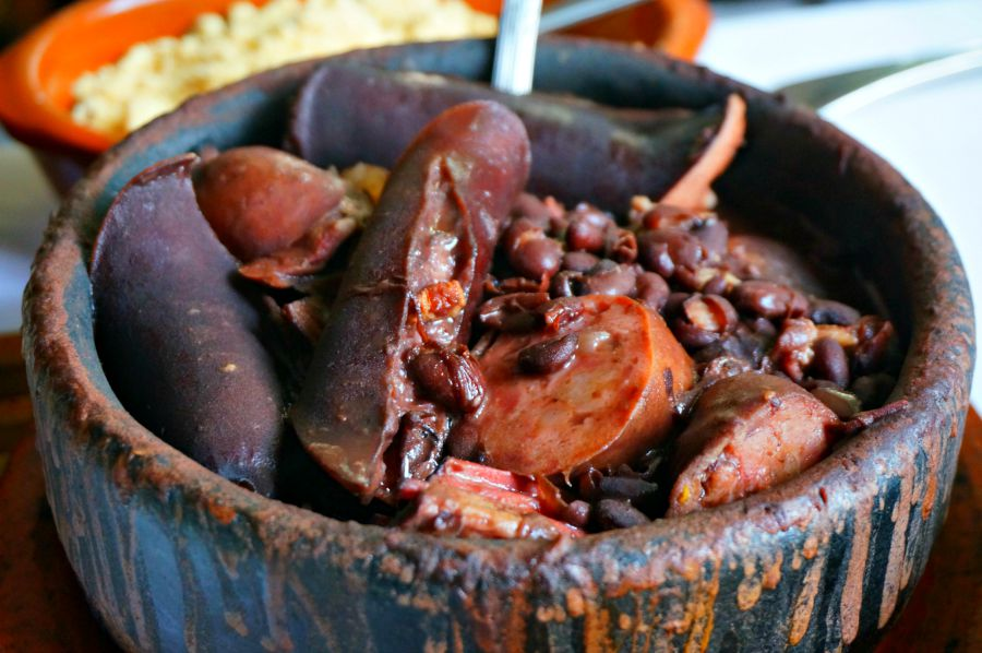 Feijoada, without the extra parts