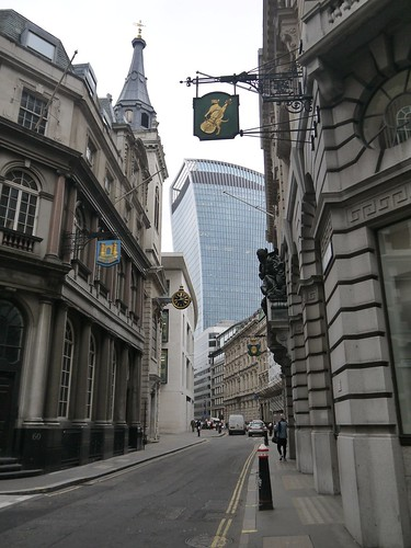 Walkie Talkie from Lombard Street