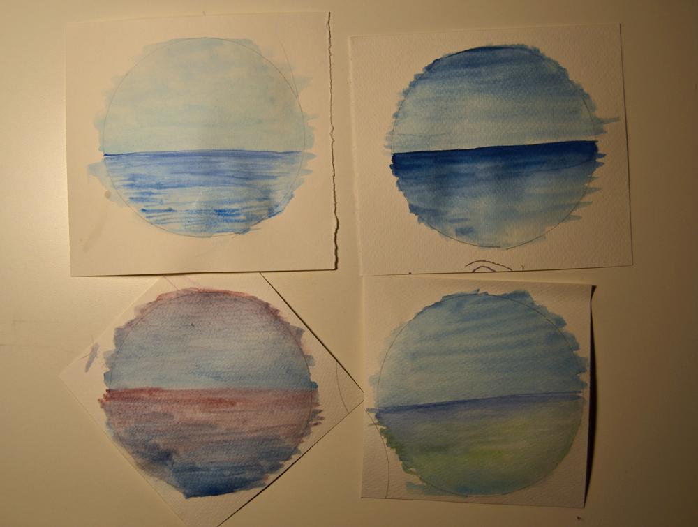 círculos de mar