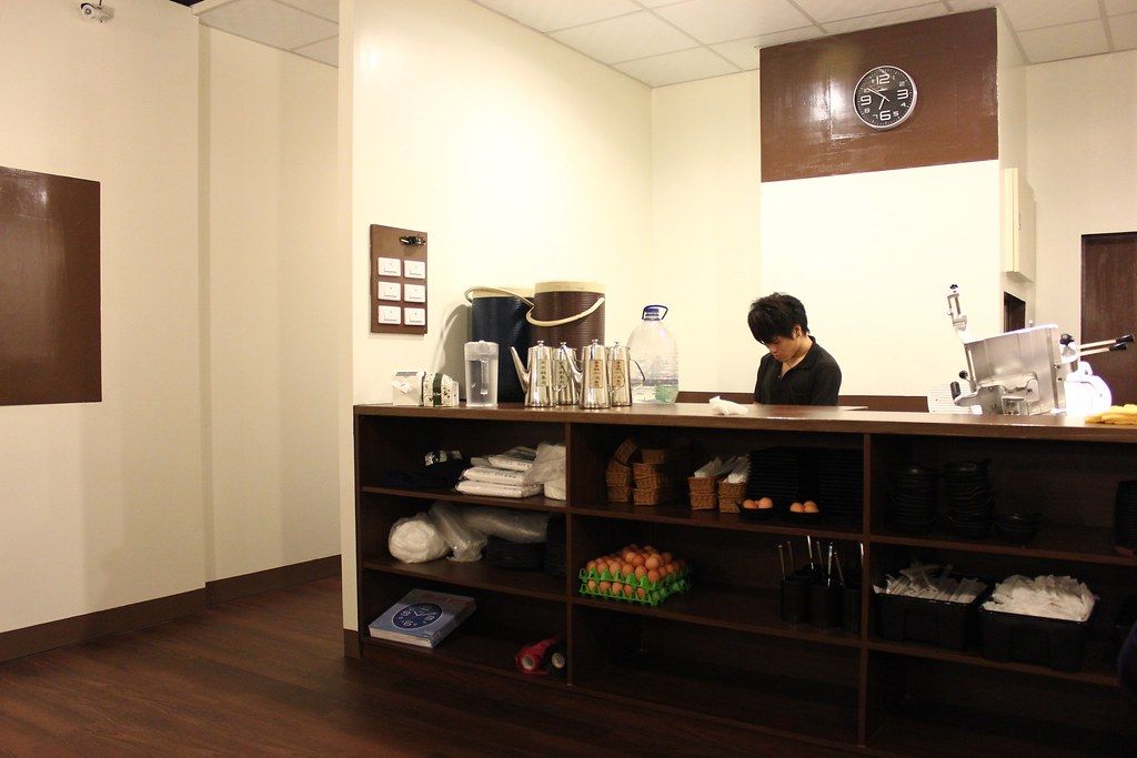 二樓點餐檯,在這邊是現切肉盤(點菜單給服務生即可,服務生會送肉盤至桌面)