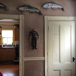 Man on the wall #Artisthouse #toymaker #arttoy