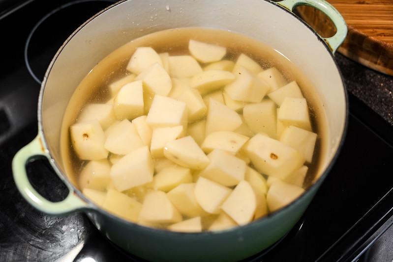 Patatesli Pide