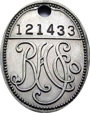 R. H. Stearns charge coin