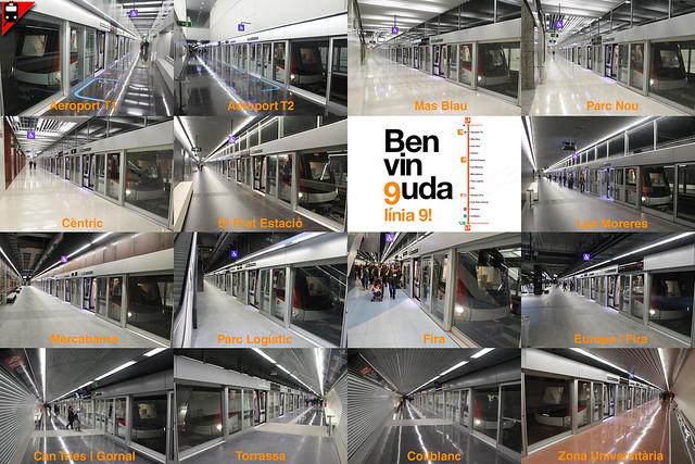 Benvin9uda línia 9 sud