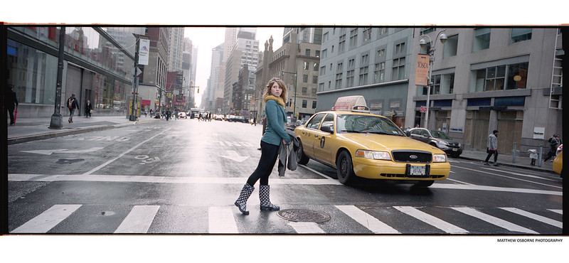 Hasselblad XPan in NYC