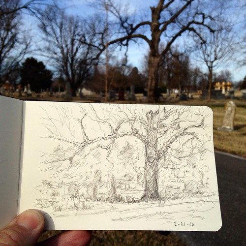 Back to Maple Park Cemetery before calling it a day.