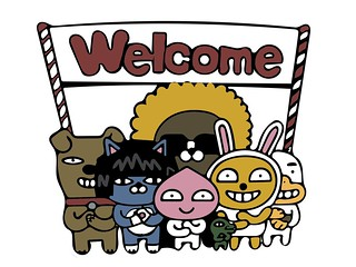 Kakao Friends - Welcome!