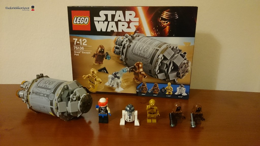ThebrickReview: LEGO 75136 - (Star Wars) Droid Escape Pod  25280576644_7533eb1a93_b