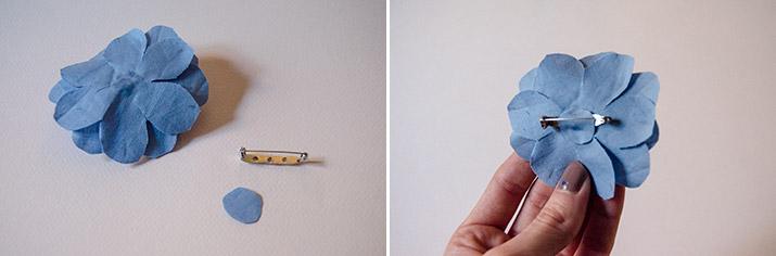 DIY Flor-pajarita inspiración Gucci