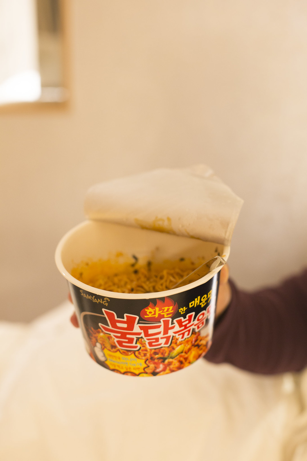 hot spicy korean ramen