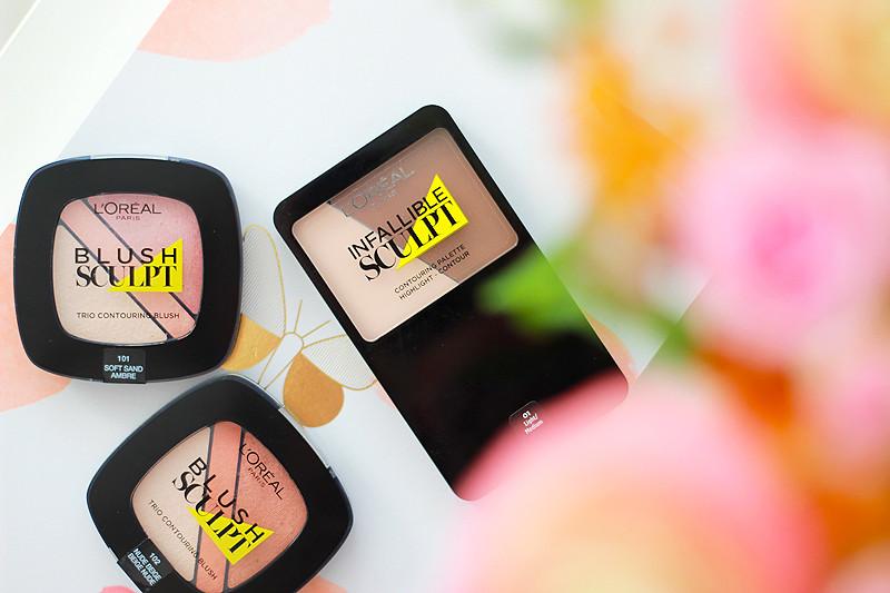L'Oréal Infallible Sculpt Blush & Contouring Palette