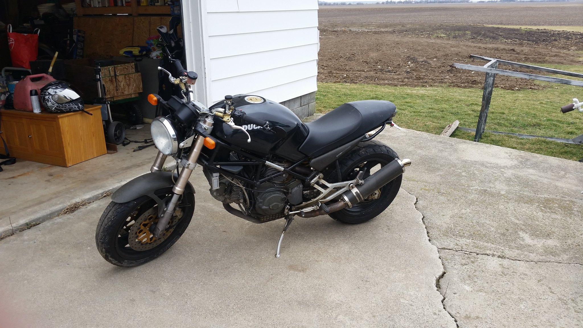 D E K on Ducati Monster Starter Relay Location