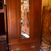 Tall Edwardian wardrobe