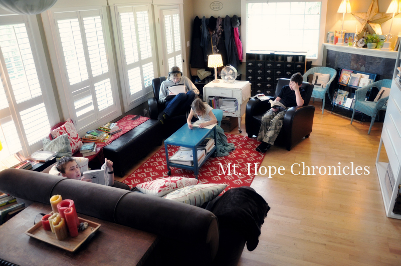 The Reading Life @ Mt. Hope Chronicles