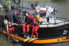 Scuba diving @ Seine @ Paris