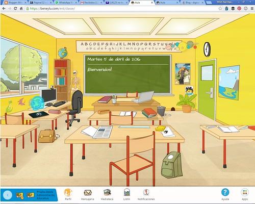 Beneylu School, plataforma web para Primaria