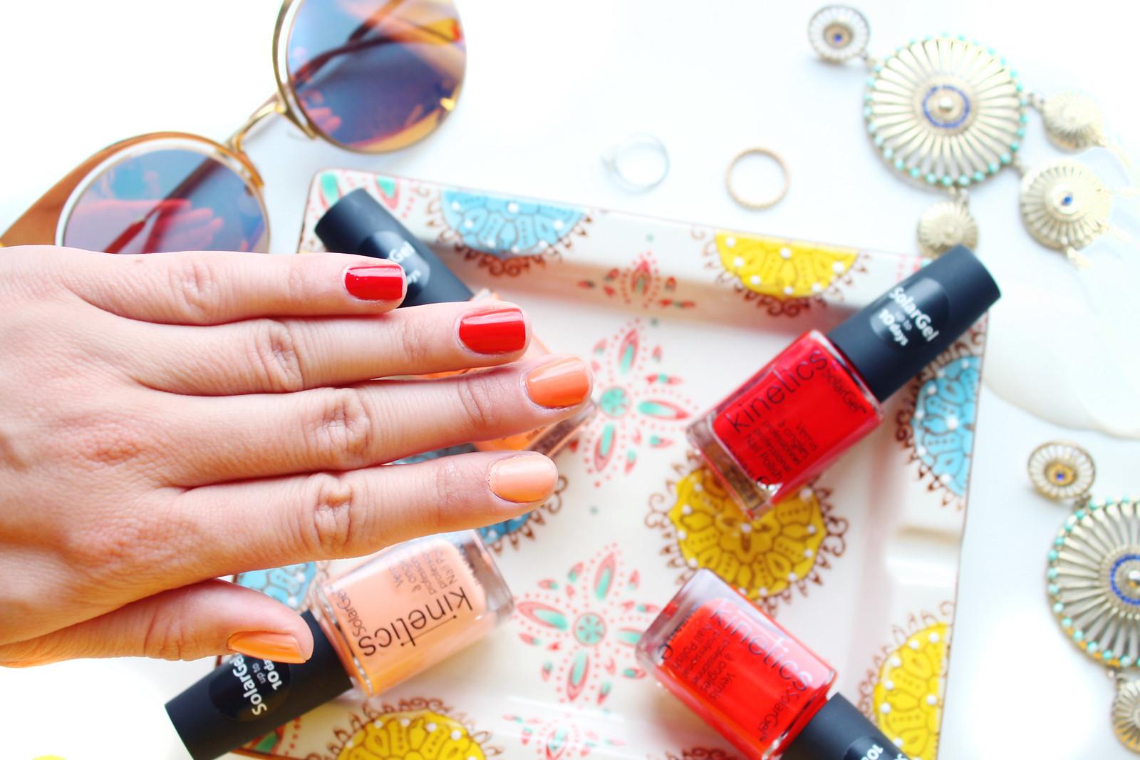 Kinetics Solargel manicure