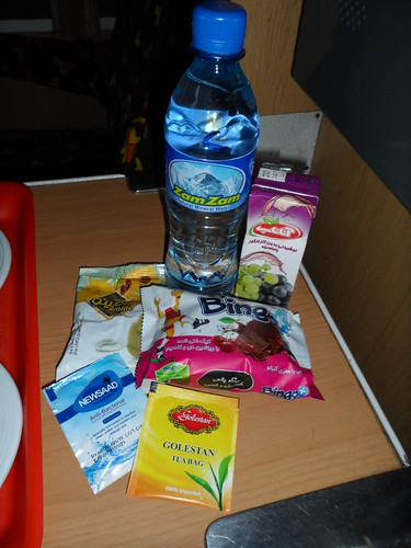 The Box of Sugar on the overnight train
