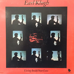 EARL KLUGH:LIVING INSIDE YOUR LOVE(JACKET A)