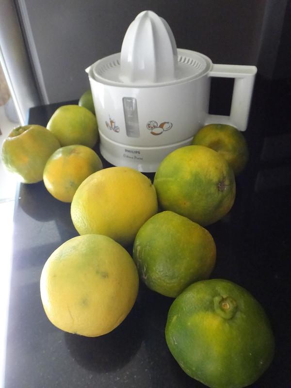 Orange Sweet Limes