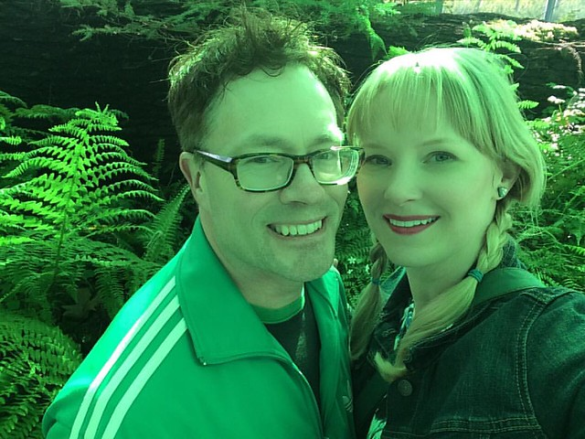 #TBT to the Neukom Vivarium...everything inside is my favorite color: green! 💚💚💚