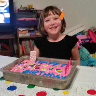 Happy 5th birthday to our amazing, spunky, sweet and sassy Mikaela.
