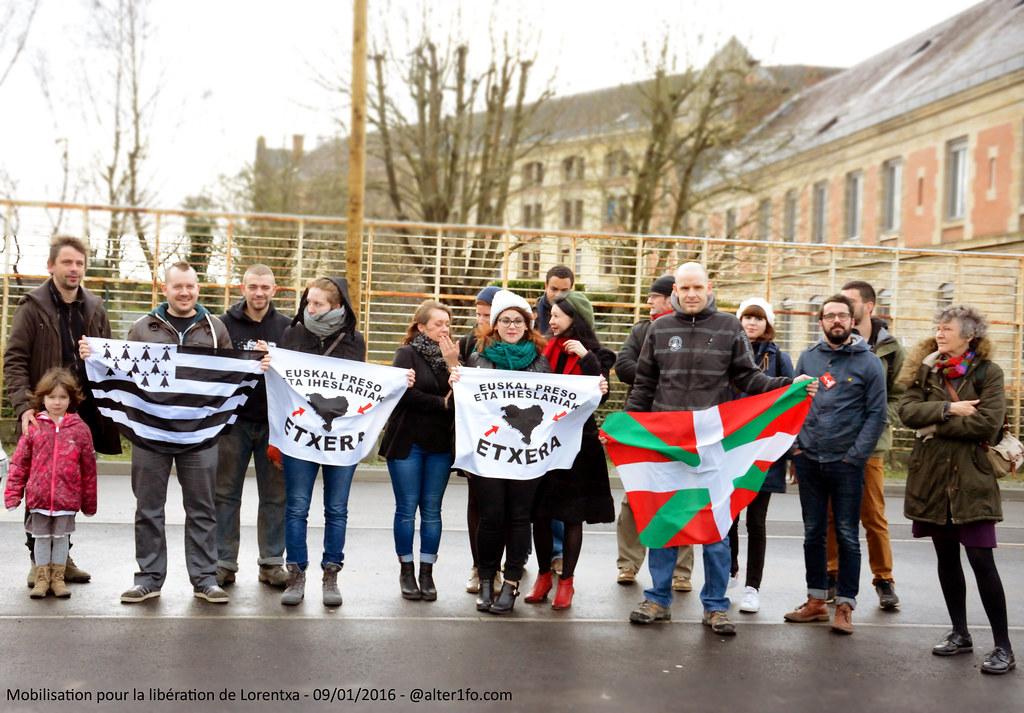 Mobilisation pour la libération de Lorentxa