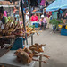 Chicken at the market in Macas, Ecuador by yago1.com