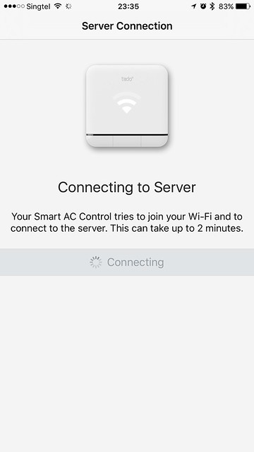 tado iOS App - Connecting to Server