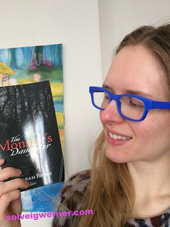 Book Selfie, The Monster's Daughter by Deborah Bryan