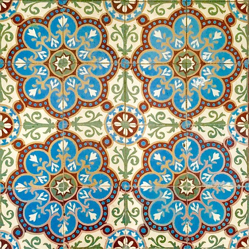 Oude keramische tegels #ceramics