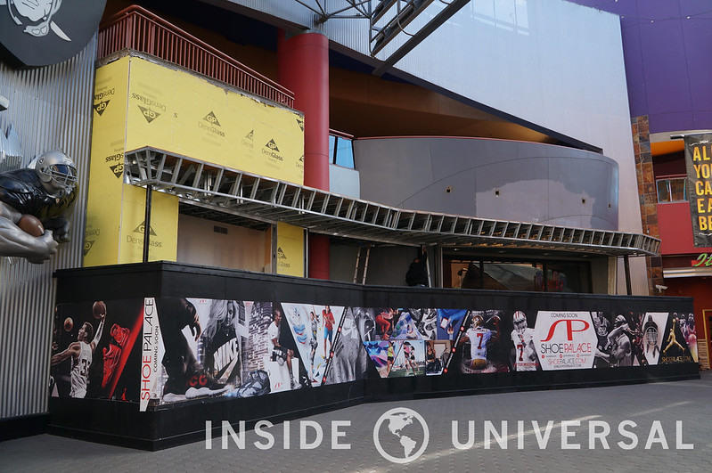 January 5, 2016 Update - CityWalk - Universal Studios Hollywood