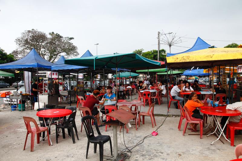 Gou Lou Mamak Stalls Kepong