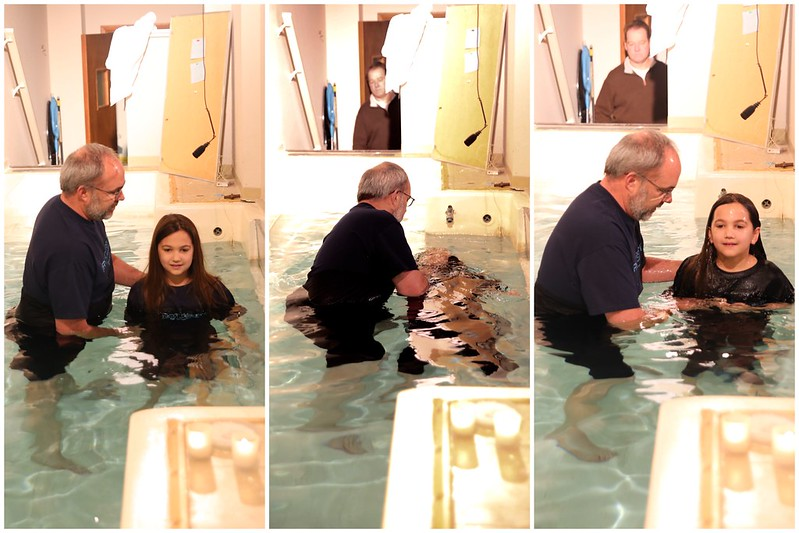 Emma's baptism