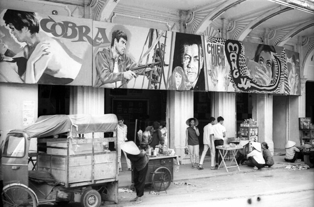 Nha Trang 1968 - Movie theater - Photo by Kennk