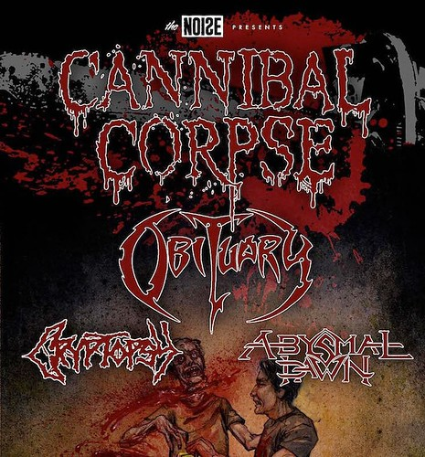 02/26/16 Cannibal Corpse/ Obituary/ Cryptopsy/ Abysmal Dawn @ The Cabooze, Minneapolis, MN