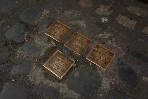 Ghetto di Roma: pietre d'inciampo