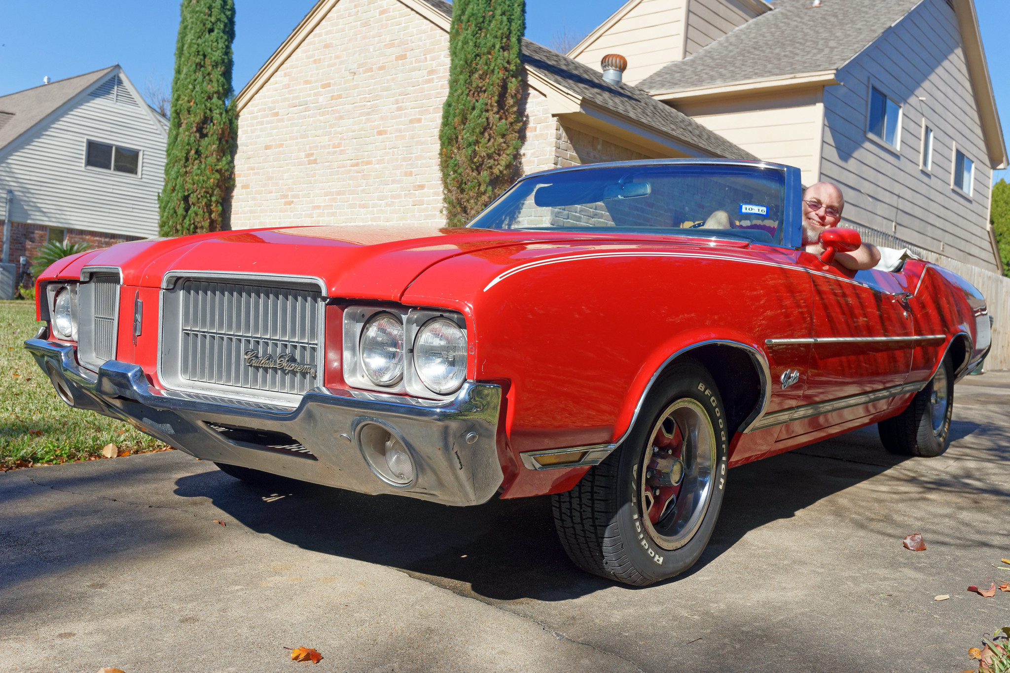 Me And My 1971 Oldsmobile Cutlass Supreme