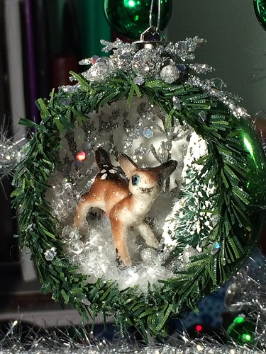 Christmas diorama ornament